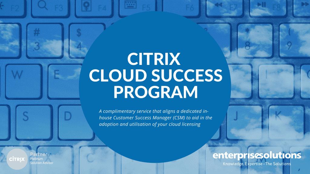 Citrix Cloud Success Program